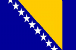 Bosnia Large Country Flag - 3' x 2'.